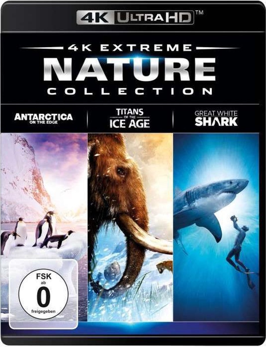 4K Extreme Nature Collection - UHD/3Blu-ray-