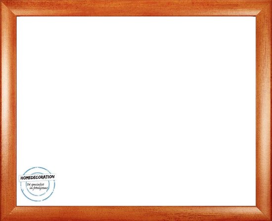 Homedecoration Colorado – Fotolijst – Fotomaat – 53 x 100 cm – Oranje geborsteld