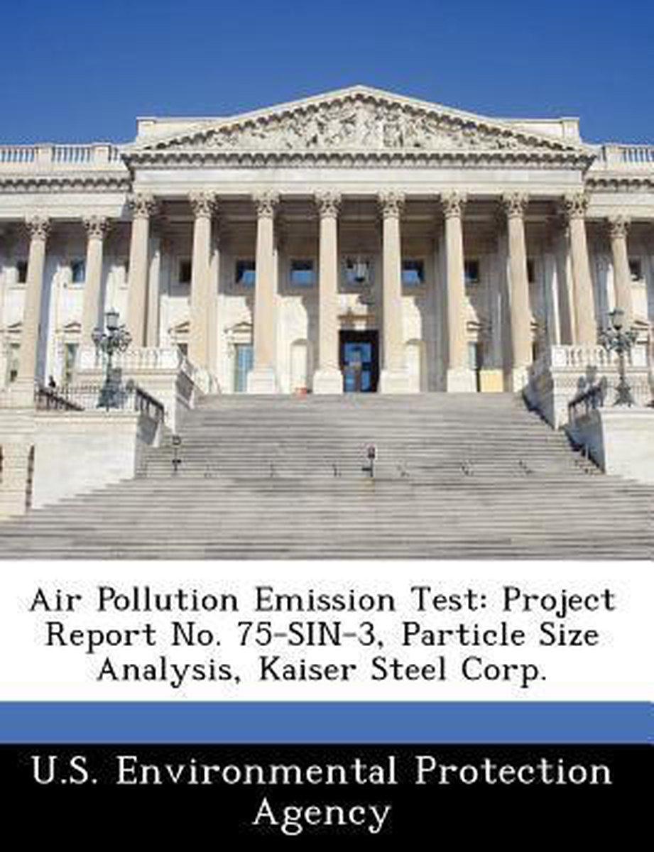 Air Pollution Emission Test