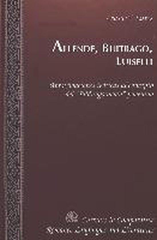 Boek cover Allende, Buitrago, Luiselli van Leasa Y. Lutes (Hardcover)