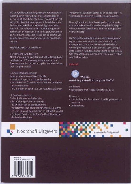 IKZ, integrale kwaliteitszorg en verbetermanagement - Chris Bakker |