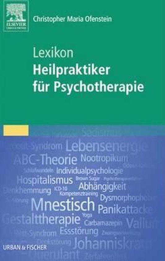 Lexikon zum Heilpraktiker für Psychotherapie