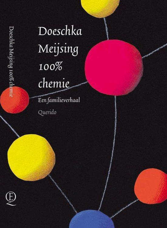 Cover van het boek '100% chemie' van Doeschka Meijsing