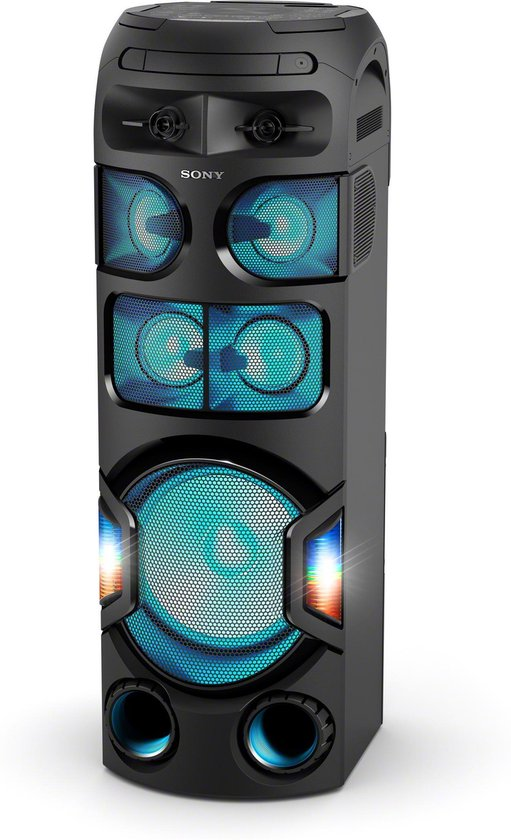 Sony MHC-V82D - Party Speaker - Zwart