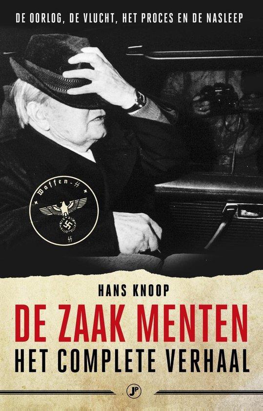 Boek cover De zaak menten van Hans Knoop (Onbekend)