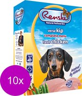Renske Adult Kip - Hondenvoer - 10 x 395 g