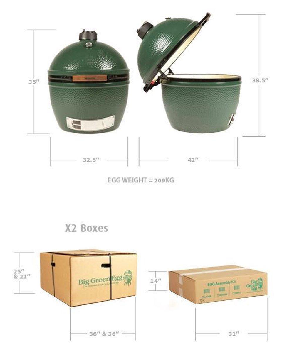Big Green Egg Houtskoolbarbecue XXL - Zonder onderstel