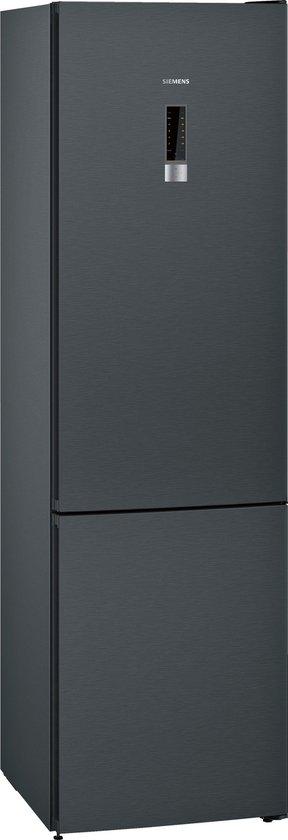 Koelkast: Siemens KG39NXB35 iQ300 - Koel-vriescombinatie - Zwart Inox, van het merk Siemens