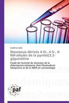 Nouveaux D�riv�s 4-O-, 4-S-, 4-Nh-Alkyl�s de la Pyrido[3,2-G]quinoline
