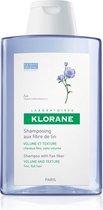 Klorane Shampoo with Flax Fiber Vrouwen Voor consument Shampoo 200ml