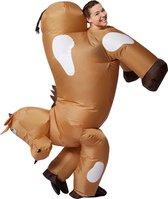 dressforfun 301325 Zelfopblaasbaar Kostuum Paard  onesize verkleedkleding kostuum halloween verkleden feestkleding carnavalskleding carnaval feestkledij partykleding