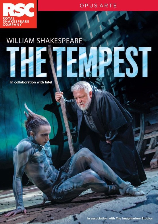 CD cover van The Tempest van Royal Shakespeare Company