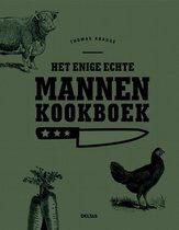Boek cover Het enige echte mannen kookboek van Thomas Krause