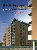 1991-1992 Architectuur in nederland jaarboek