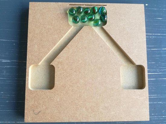 Afbeelding van het spel Splitsingspel (knikkers)