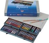 Bruynzeel Design Aquarel box - 48 aqaurelpotloden met penseel