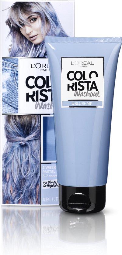 Fonkelnieuw bol.com   L'Oréal Paris Colorista Washout Haarverf - Blauw - 1 tot LL-87