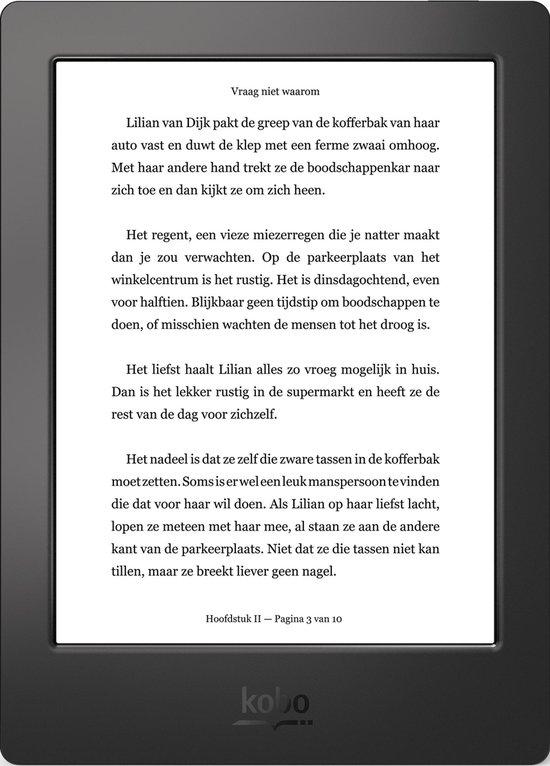Kobo Aura H2O edition 1 Refurbished e-reader - Zwart