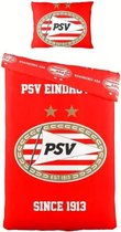 PSV Dekbedovertrek - Eenpersoons - 140 x 200