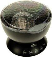 United Entertainment - Ocean Projector Pot - met Afstandsbediening - Zwart