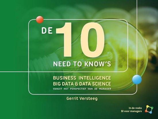 De 10 need to knows rond Business Intelligence - Gerrit Versteeg |