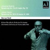 Brahms: Symphony No. 2, Haydn: Symp