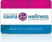 Nationale Sauna & Wellness cadeaukaart 40,-