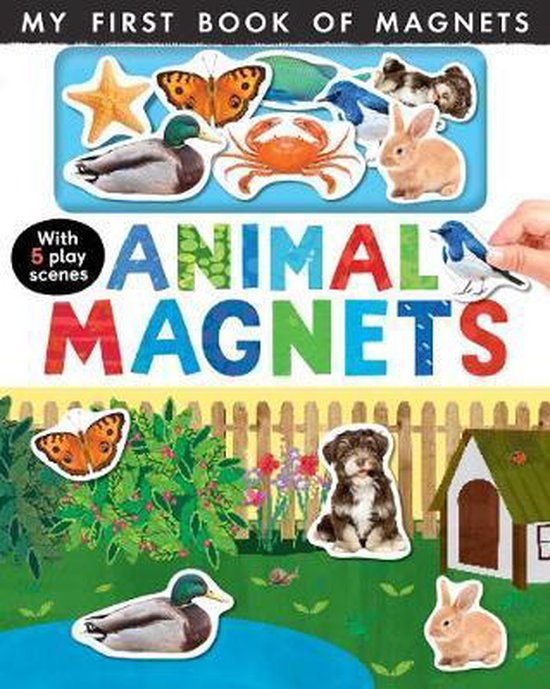 Boek cover Animal Magnets van Nicola Edwards (Onbekend)