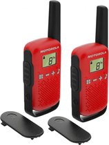 Motorola Talkabout T42 - Twin Pack - Rood