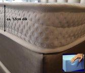 Tencel Topper XXL 200x210 Koudschuim HR55 12 cm Dik