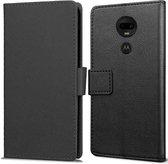 Motorola Moto G7/G7 Plus hoesje - Book Wallet Case - zwart