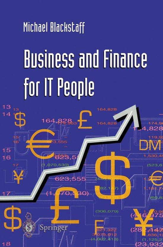Boek cover Business and Finance for IT People van Michael Blackstaff (Onbekend)