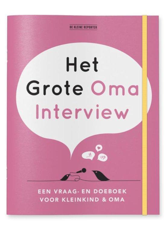 Het grote Oma interview - Elma van Vliet |