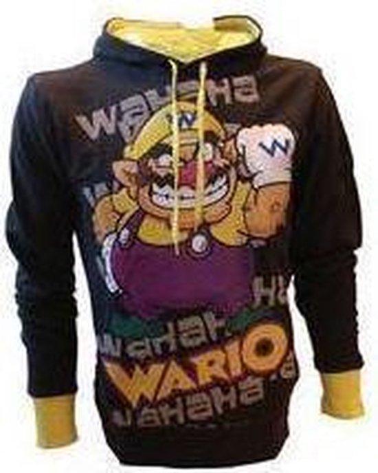 Merchandising NINTENDO - SweatShirt Super Mario : Wario Black (M)