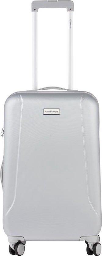 CarryOn Skyhopper Reiskoffer - 67cm TSA trolley - Zilver