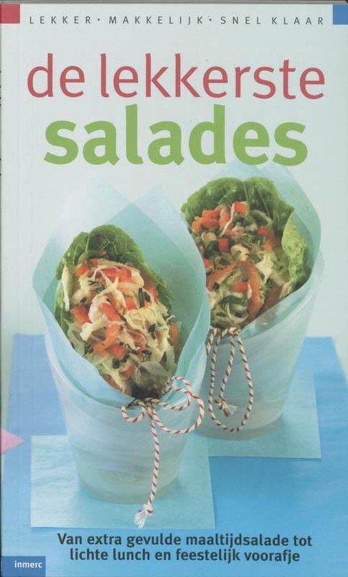 Cover van het boek 'De lekkerste salades'