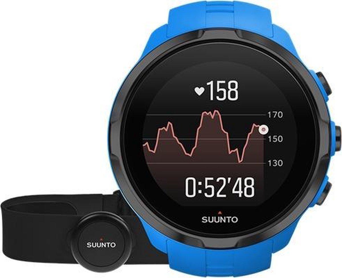 Suunto Spartan Sport Wrist HR inclusief HR belt - Blue - Suunto