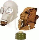 Gasmasker Halloween Russisch tasje (zonder filter)