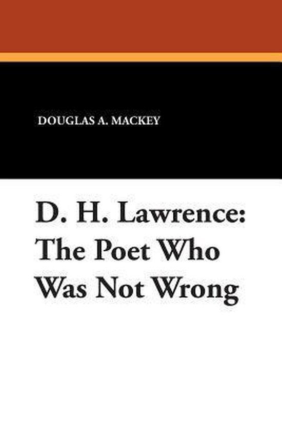 Boek cover D.H.Lawrence van Douglas A. Mackey (Paperback)