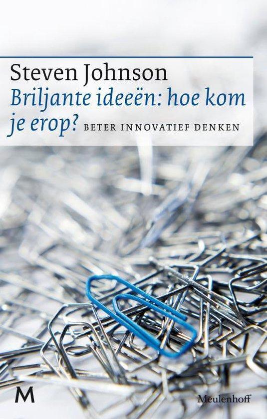 Cover van het boek 'Briljante ideeën: hoe kom je erop?'