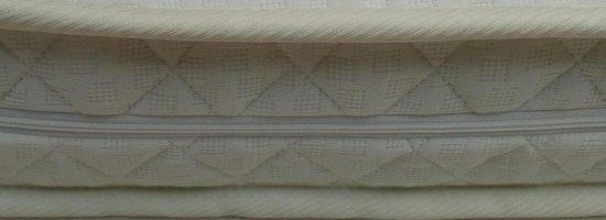 Matrassenmaker - matras 50x90 koudschuim HR40 dubbeldoek met rits