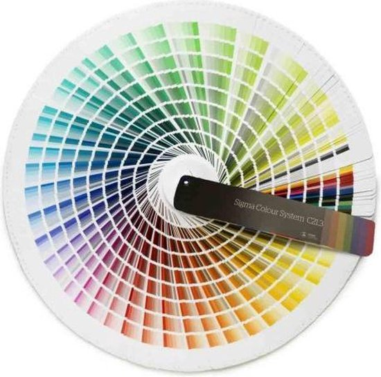 Sigma Colour System C21.3 - Kleurenwaaier / kleurstaal