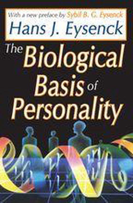 Boek cover The Biological Basis of Personality van Hans Eysenck (Onbekend)