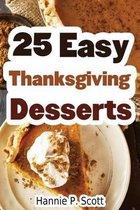 25 Easy Thanksgiving Desserts