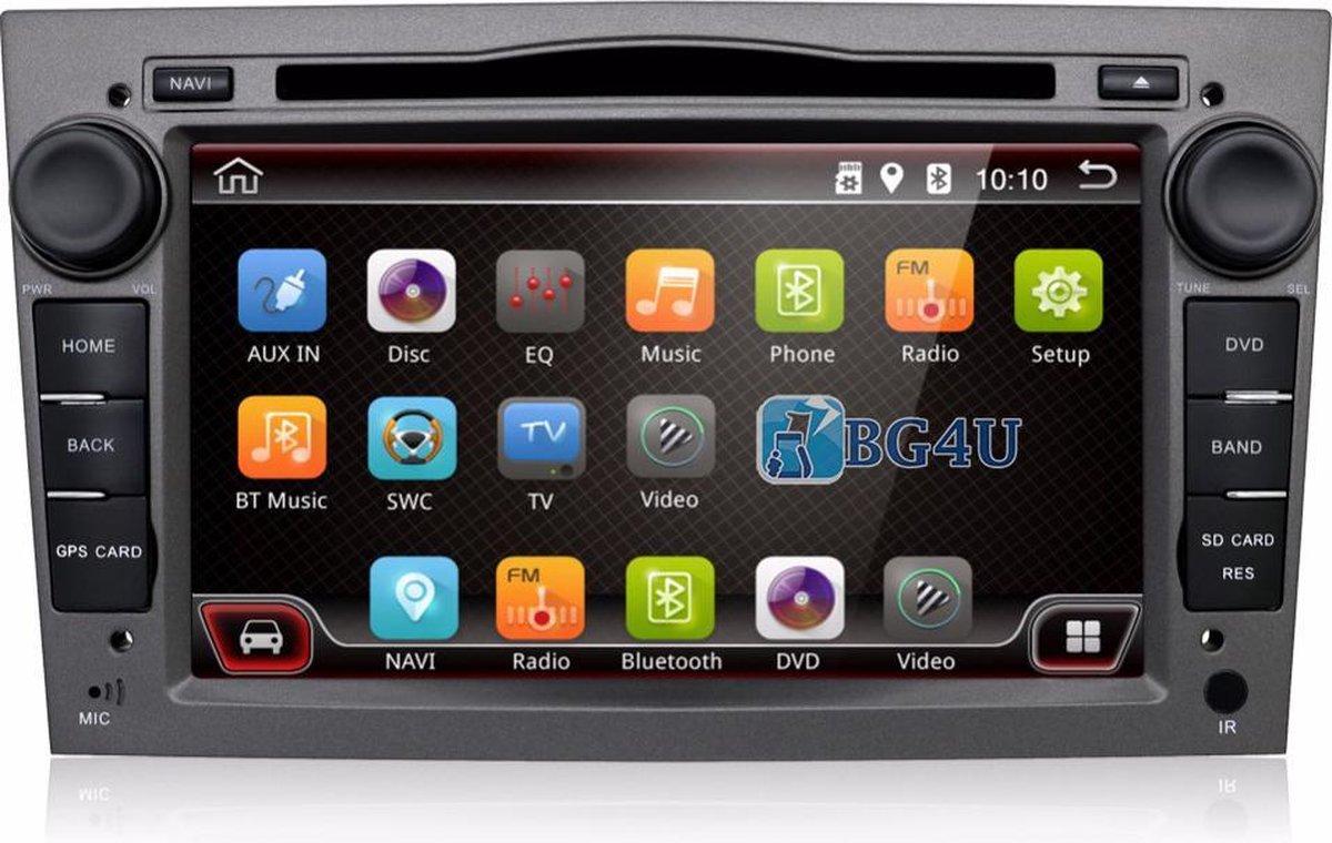 Android navigatie radio Opel Astra Corsa Zafira Vectra Vivaro, 7 inch scherm, Canbus, GPS,
