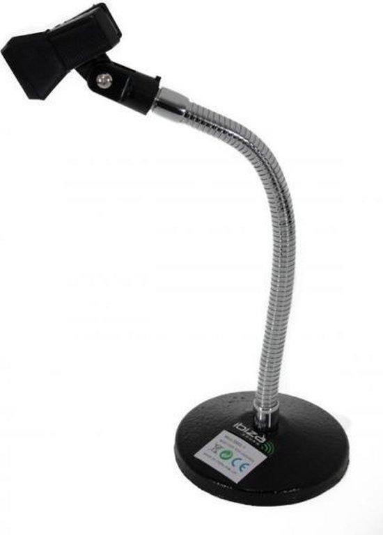 Microfoon houder met zwanenhals