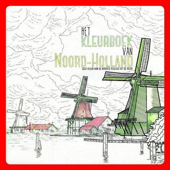Het Kleurboek van Noord-Holland - Veldboeket Lektuur |