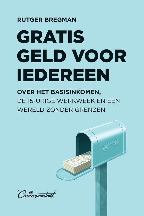 Boekomslag voor Gratis geld voor iedereen