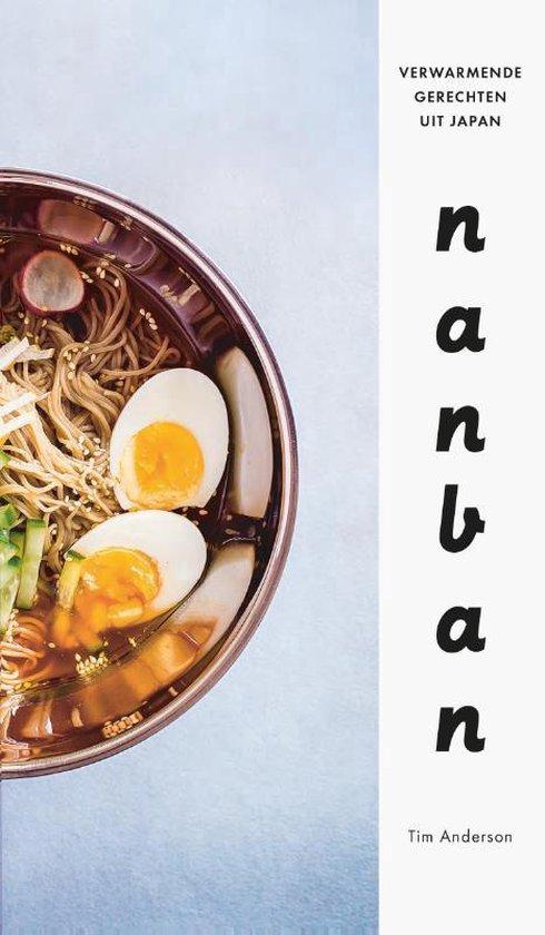 Boek cover Nanban. Verwarmende gerechten uit Japan van Tim Anderson (Hardcover)