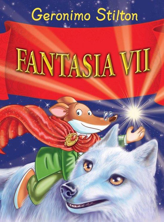 Boek cover Fantasia VII van Geronimo Stilton (Hardcover)